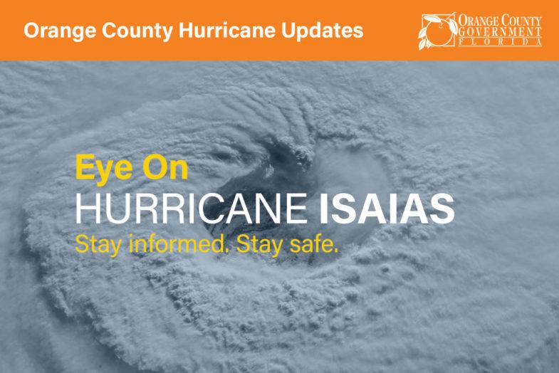 Eye on Hurricane Isaias