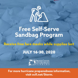 Free Self Serve Sandbag Program