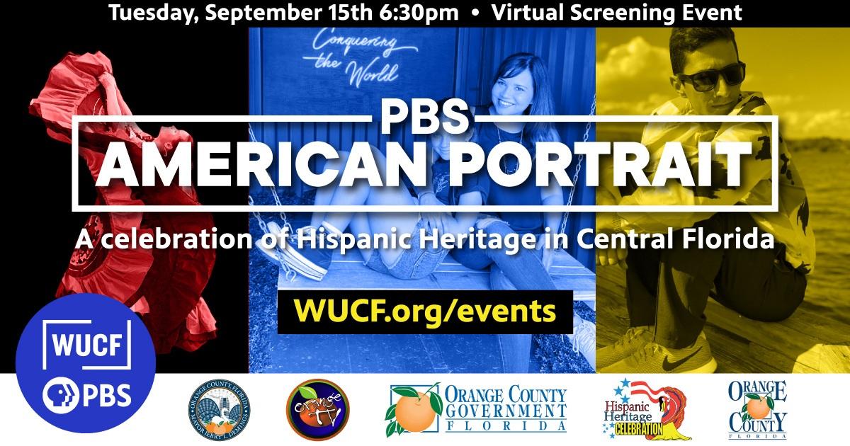 PBS American Portrait: A celebraton of hispanic heritage in Central Florida