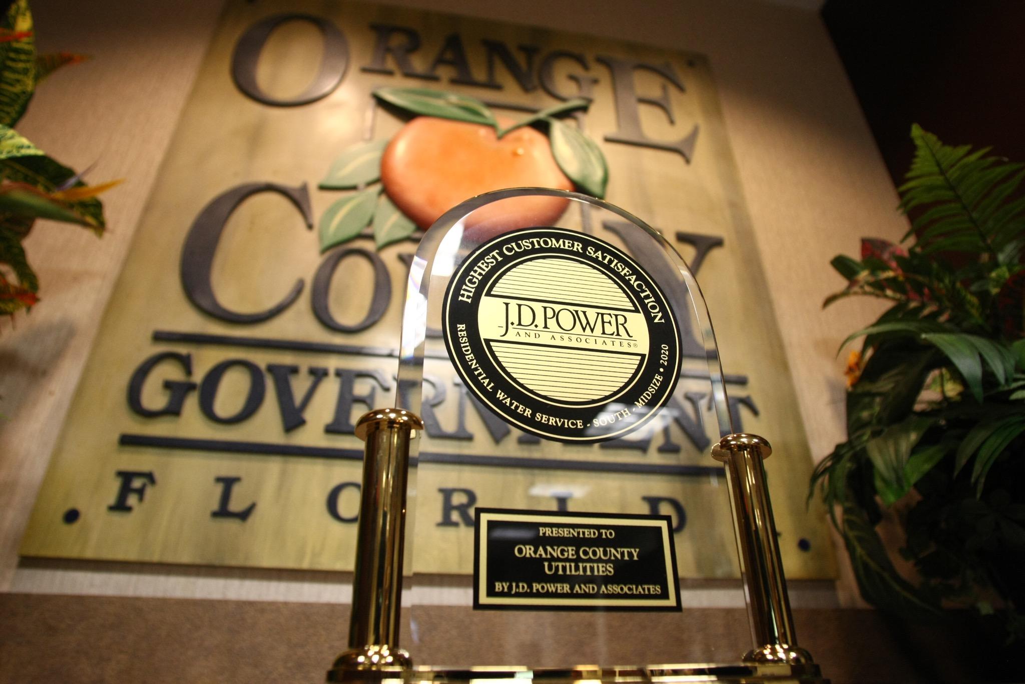 Photo of JD Power Award