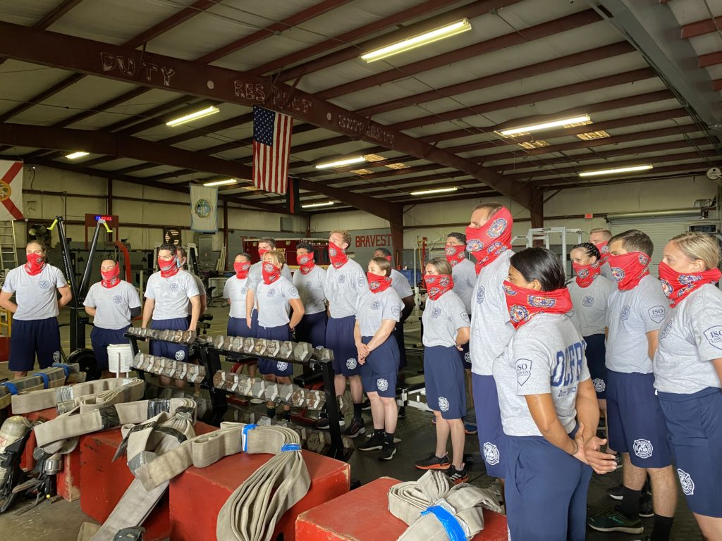 Most Diverse Fire Rescue Class