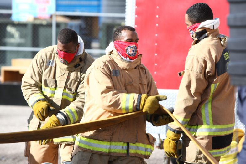 Newest Fire Recruits Completing Training