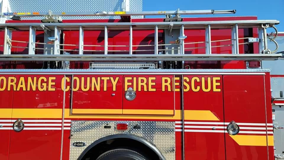 Orange County Fire Rescue Reveals New, More Efficient Engine